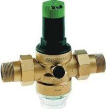 """Honeywell Víznyomáscsökkentő + nyomásmérő PN16, 1,5-6 bar, 40°C, 6/4"""" KM+holl"""