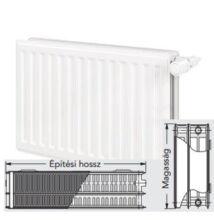 Vonova 33KV400x400 szelepes radiátor - balos bekötés  (992 W)