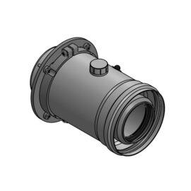 Sanica 60/100 Pps/Alu függőleges indítóidom kondenzációs kazánhoz
