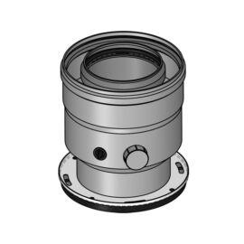 Sanica 80/125 Pps/Alu függőleges indítóidom kondenzációs kazánhoz
