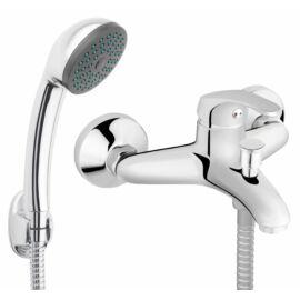 Ferro Basic kádcsaptelep fali tartós zuhanyszettel