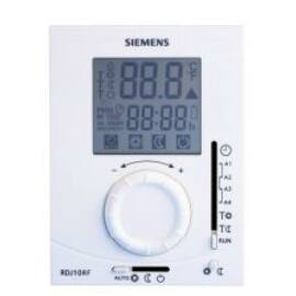 Siemens RDJ100 RF SET Napi programozású rádiófrekvenciás szobatermosztát