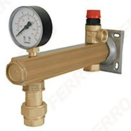 Ferro Biztonsági szelepkészlet melegvízhez 6 bar gyorscsatlakozóval GBMW60SN01