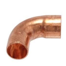 IBP 5001A forrasztható réz ív, 90°, 1 tokos, 28mm