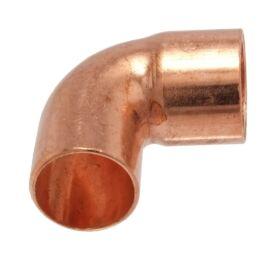 IBP 5092 forrasztható réz könyök, 90°, 1 tokos, 22mm