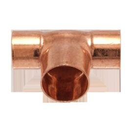 IBP 5130R forrasztható réz szűkített T-idom, 18x22x18mm