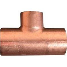IBP 5130R forrasztható réz szűkített T-idom, 22x15x15mm