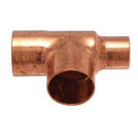 IBP 5130R forrasztható réz szűkített T-idom, 22x22x15mm