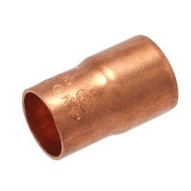 IBP 5243 forrasztható réz szűkített karmantyú, 1 tokos, 28x18mm