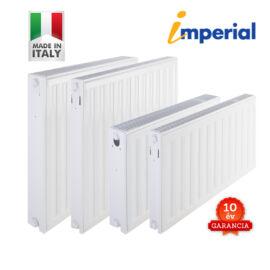GENTECH - IMPERIÁL UNI 33VK500x400 (olasz) beépített szelepes lapradiátor 10 év