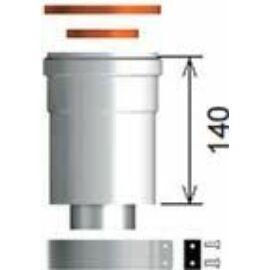 Ariston 60/100 Pps/Alu függőleges indítóidom kondenzációs kazánhoz