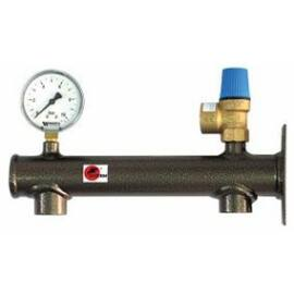 GENTECH Biztonsági szerelvénycsoport használati melegvízre 6 bar