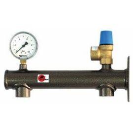 GENTECH Biztonsági szerelvénycsoport használati melegvízre 8 bar