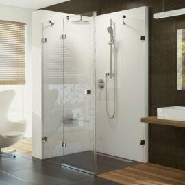 Ravak Brilliant BSDPS-100/100 bal zuhanykabin fix fallal króm kerettel, transpar