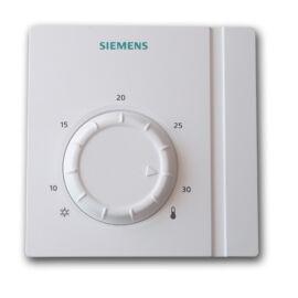 Siemens RAA21 Szobatermosztát mechanikus hőmérséklet állítással