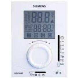 Siemens RDJ10 Nagyméretű LCD kijelző, napi programozhatóság, elektronikus forgat