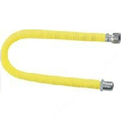 """KUZ nyújtható flexicső gázra 500-1000mm, 1/2""""-1/2"""" KB"""