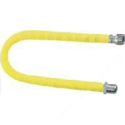 """KUZ nyújtható flexicső gázra 750-1500mm, 1/2""""-3/4"""" BB"""