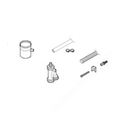 Bosch AZ 412 na 80 alu kondenzátum leválasztó idom