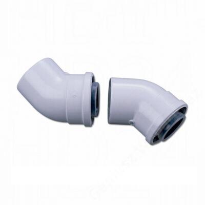 Bosch AZB 911 na 60/100 pps/alu 45°-os könyök idom (2 db/csomag)