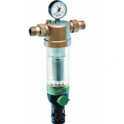 "Honeywell F76S átmosható ivóvíz szűrő, PN16, hollandival, 100µm, max40°C, 6/4""K"