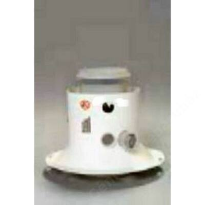 Saunier Duval na 80/125 pps/alu indító idom mérőponttal kondenzációs kazánhoz