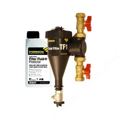 Fernox Total Filter TF1 22mm rendszerbe építhető kombinált mágnes/finomszűrő + F