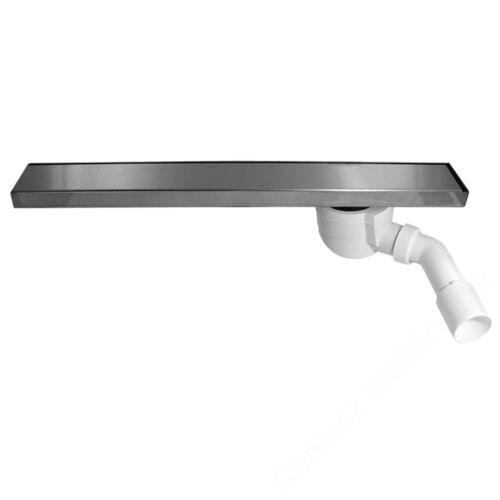 Ferro EASY NEW rozsdam. acél zuhanyfolyóka polírozott ráccsal 60 cm