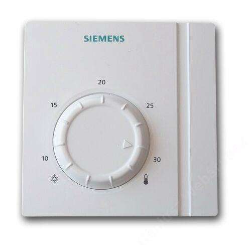 Siemens RAB 11 fan-coil termosztát kétcsöves rendszerhez fűtés/hűtés