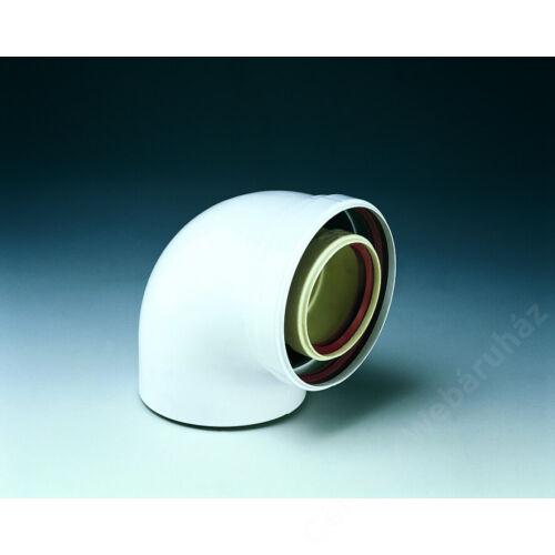 Ferroli 90° könyök 80-125 PVC-PPs