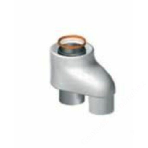 Ariston 80/80-80/125 Pps/Alu átalakító idom függőleges végelemhez, kondenzációs
