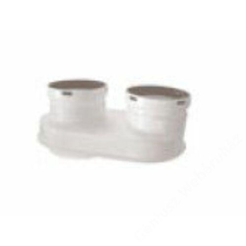 Baxi 60/100-80/80 Pps/Pps szétválasztó indító idom, elfordítható, kondenzációs k