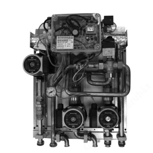 """Baxi Fűtési modul két kevert és egy direkt körhöz """"MS IN"""" (Luna Duo-Tec)"""