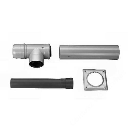 Bosch AZB 616/1 na 80/125 pps/alu Vízszintes kéménybekötő készlet kéménybekötési