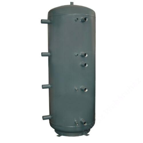 CONCEPT 2WT-1000-00 puffertároló, 2 csőkígyóval, szig nlk,1000 literes, D=790mm