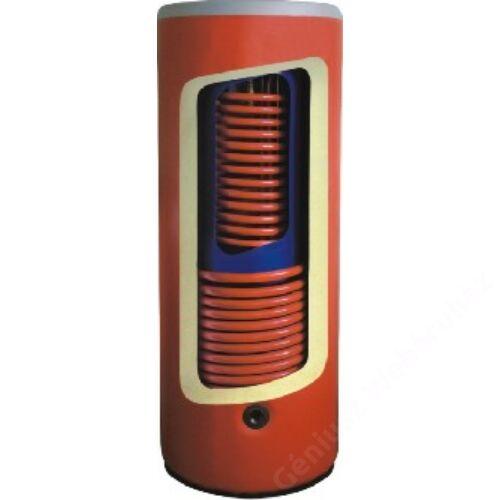 CONCEPT SGW(S)K kombi tároló 1+1 csőkígyóval, álló, hengeres 500/160 liter