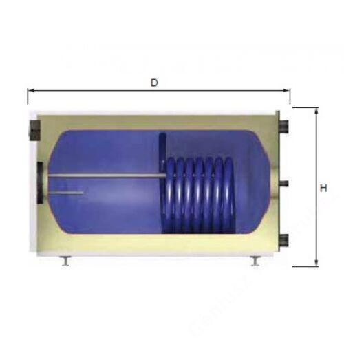 Reflex US 150 literes fekvő indirekt tároló