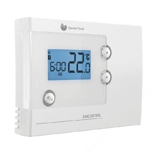 Saunier Duval Exacontrol 7 gyári Programozható digitális kétállású helyiséghőmér