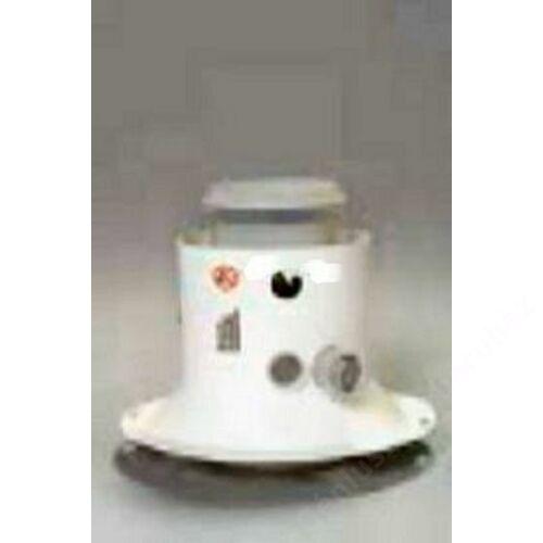 Saunier Duval na 60/100 pps/alu indító idom mérőponttal kondenzációs kazánhoz