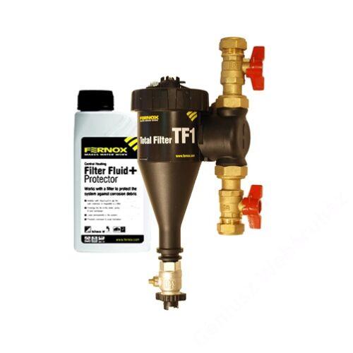 Fernox Total Filter TF1 28mm mágneses iszapleválasztó + védőfolyadék csomag