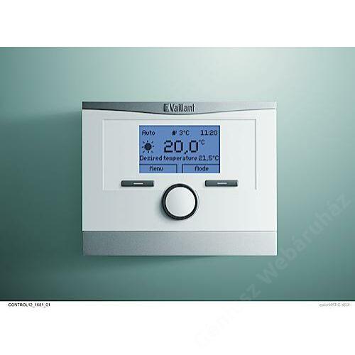 Vaillant calorMATIC 450f eBUS Gyári vezeték nélküli időjáráskövető szabályozó