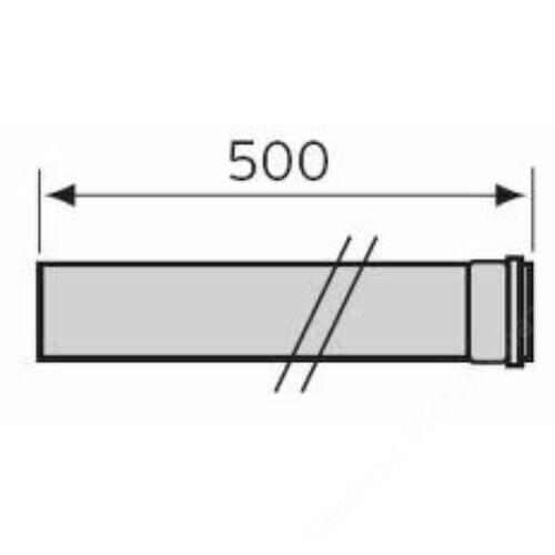 Vaillant na 80 pps 0,5 m egyenes cső