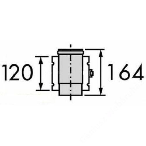 Vaillant na 80/125 alu/alu megbontható elem