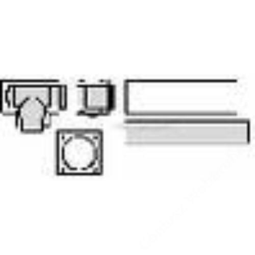 Vaillant na 80/125 pps/alu alapszett LAS rendszerű kéményhez