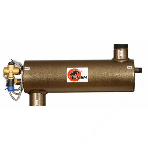 """GENTECH - ELTERM 6/4"""" biztonsági hőcserélő ( 32 KW ) + WATTS termikus szelep"""