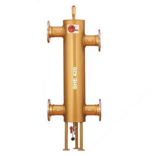 """GENTECH - ELTERM SHE420 80/200 karimás 3"""" hidraulikus váltó max. 420 kW+ automat"""