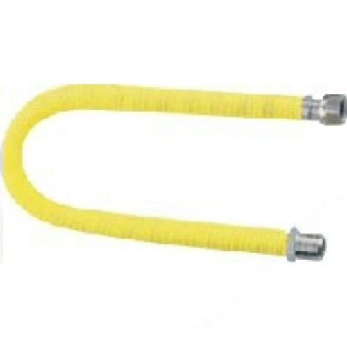 """KUZ nyújtható flexicső gázra 500-1000mm, 1/2""""-1/2"""" BB"""